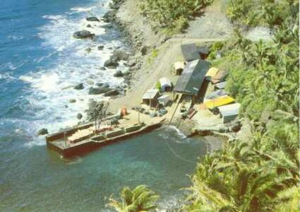 new road on pitcairn island completed gleaner readers helped
